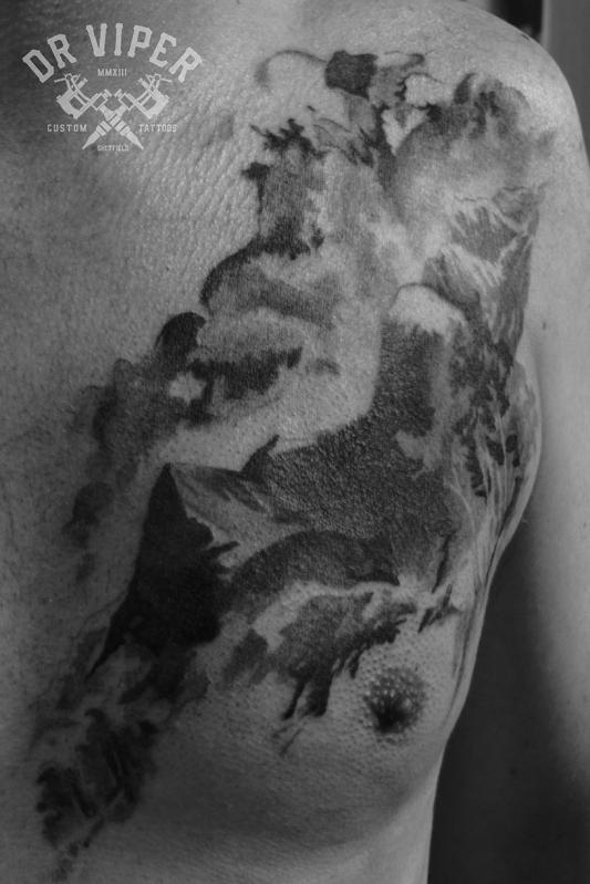 Dr Viper Cairngorm Tattoo