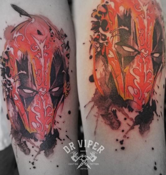 Dr Viper Deadpool Tattoo