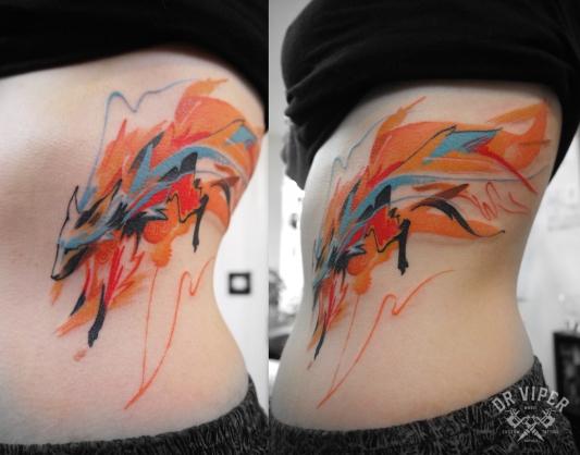 Dr Viper fox tattoo 01