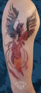 Dr Viper Phoenix Tattoo 2